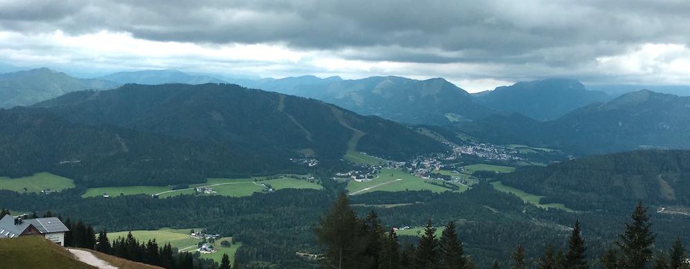 Panorama der Gemeindealpe Mitterbach