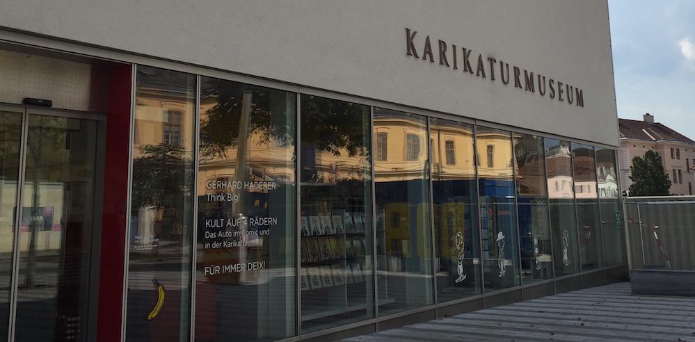 Aussenansicht Karikaturmuseum Krems