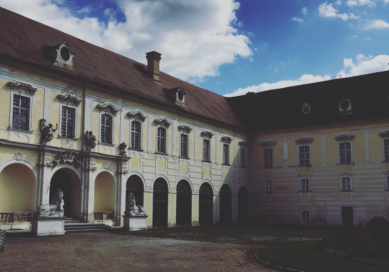 Innenhof vom Stift Altenburg