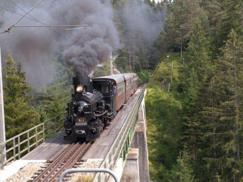 Dampflok der Mariazellerbahn