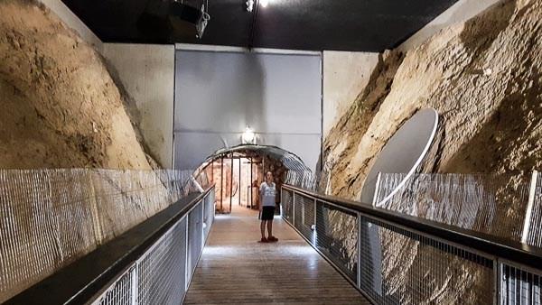 Innenbereich der Fossilienwelt