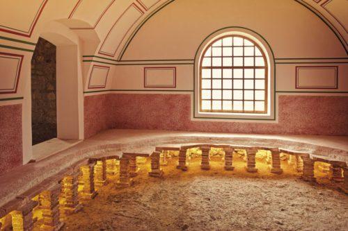 Römische Fußbodenheizung