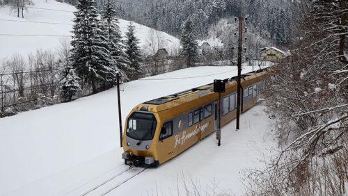 Mit der Mariazellerbahn in den Winter
