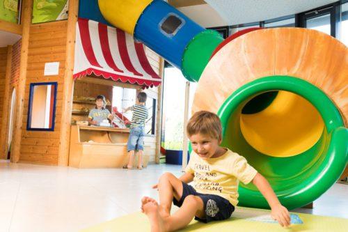 Kinderspielplatz im Haubiversum