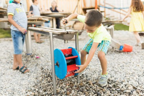 Kinderspielplatz Haubiversum