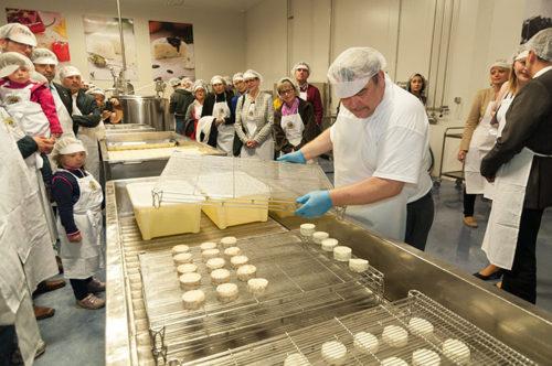 Führung in der Käsemacherwelt!