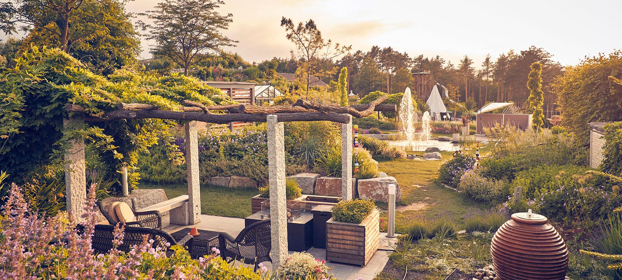 Einblick in die Kittenberger Erlebnisgärten