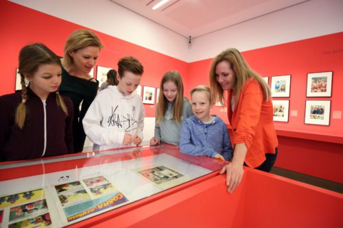 Familienführung Karilaturmuseum