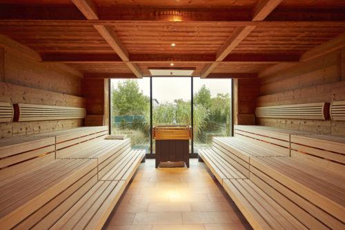 Teichsauna der Saunawelt