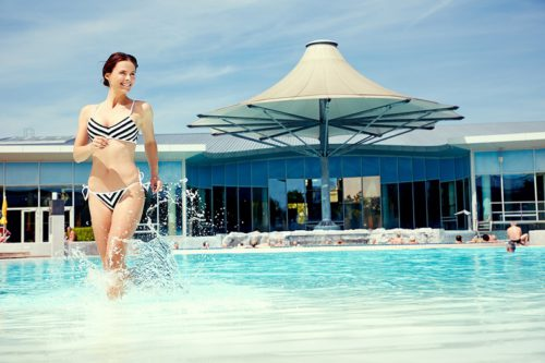 Sommerbad der Therme Laa