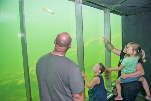 In der Unterwasserstation