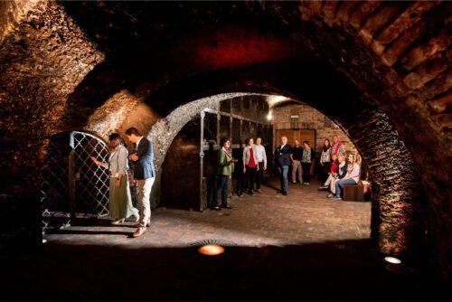 Historisches Kellergewölbe mit