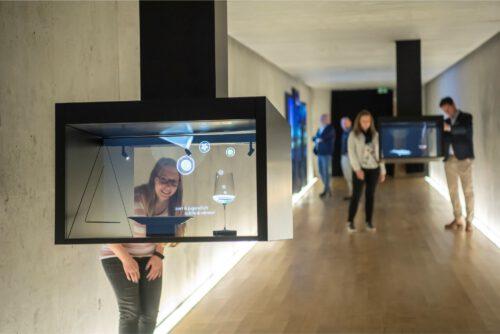 Neu in 2021: Wein.Kosmos - faszinierende 3D-Hologramme
