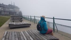 Rax Bergstation im Nebel